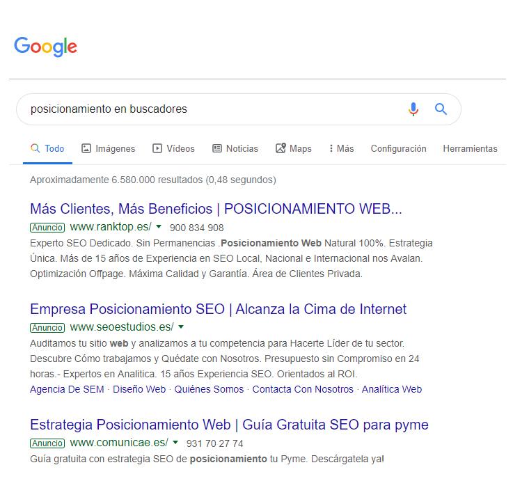 serp-google-posicionamiento